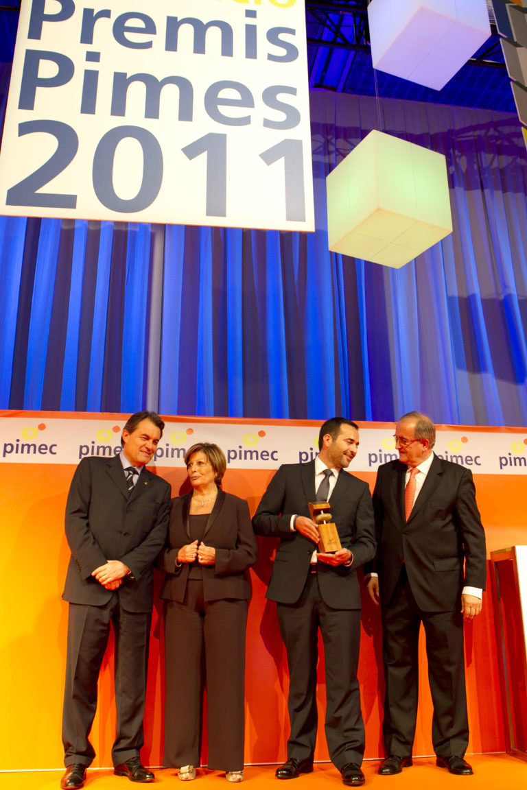 SANJO Recibe El Premio PIMEC A La Pyme Más Competitiva