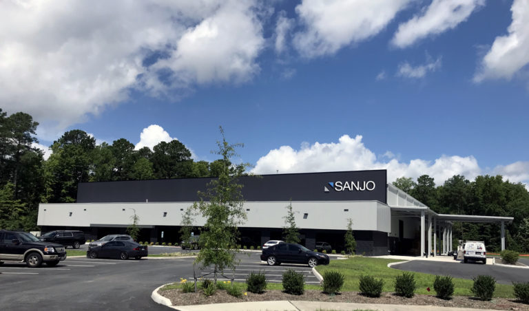 Planta De Producción De SANJO En Virginia Beach, Estados Unidos