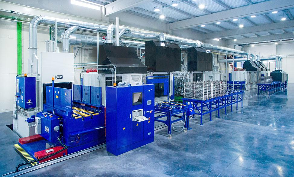 Planta de tratamientos térmicos de SANJO (SANJO Heat Treatment)